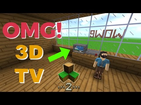 Survivalcraft 2 - 3D Television | Survivalcraft Furniture