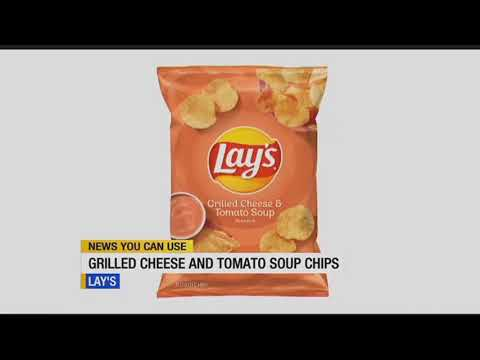 Wendy Wild - Lays Is Selling Grilled Cheese And Tomato Soup-Flavored Potato Chips