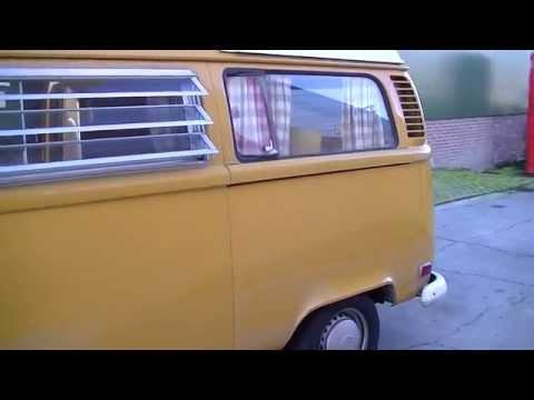 VW T2 Westfalia 1972 100% original video www.ERclassics.com