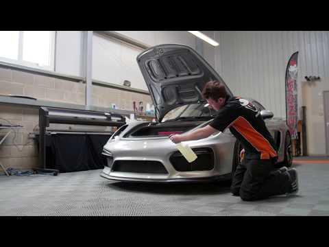 Venom Wraps - Xpel Paint Protection Film (PPF) - Porsche Cayman GT4
