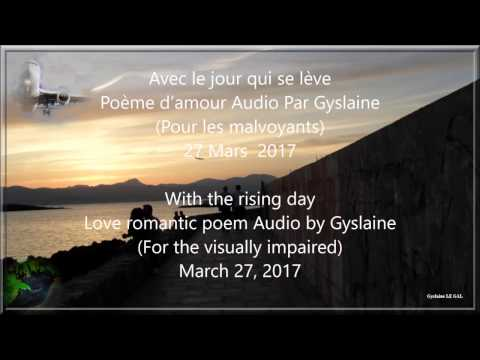 Avec Le Jour Qui Se Lève With The Rising Day Gyslaine L