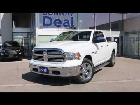 Pre-Owned 2016 Dodge Ram 1500 Big Horn Ecodiesel For Sale - Donway Ford