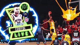 THESE DUNKS ARE INSANE!!! 101 OVR LIVE PASS BLAKE GRIFFIN GAMEPLAY!!! NBA LIVE MOBILE