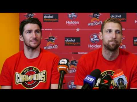 Perth Wildcats - 2017 Championship post-game press conference