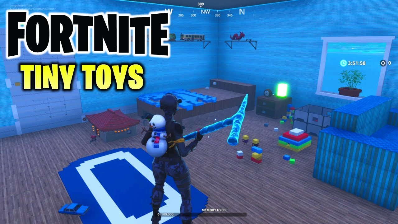 Tiny Toys The Best Fortnite Creative Map So Far With Code Youtube