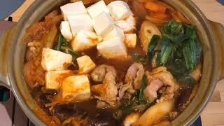 Японское набэ рецепт. Кимчи набэ. Как готовят японцы. Японская кухня.
