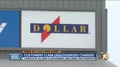 Customers claim Dollar Rent A Car charged insurance even though they declined it