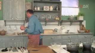 Котлеты с чесночной подливкой рецепт от шеф-повара / Илья Лазерсон