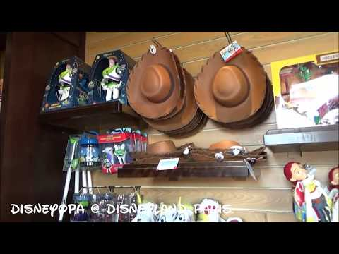 Disneyland Paris General Store Shop walkthrough 2017 DisneyOpa