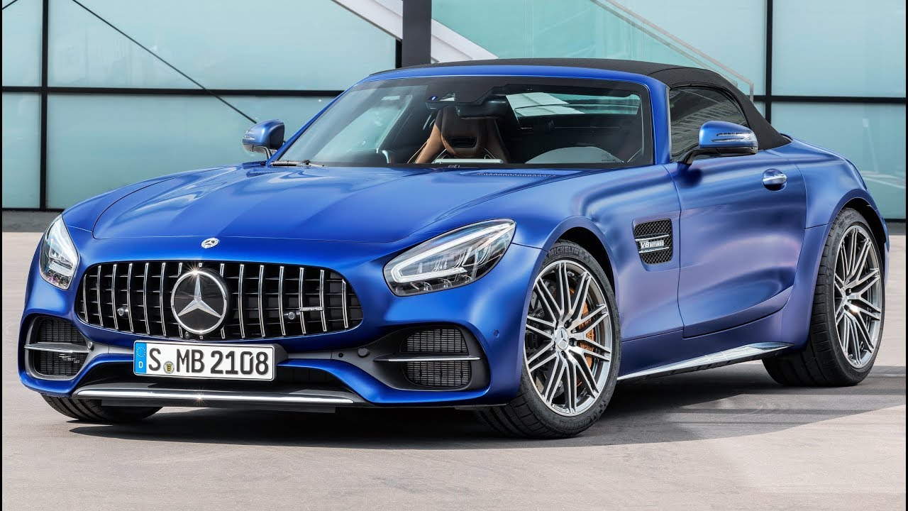 2019 Mercedes Amg Gt C Roadster Pure Driving Performance