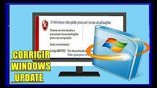Como Corrigir Todos os Erros do Windows Update:  Sistemas Windows 7,8 1 e 10