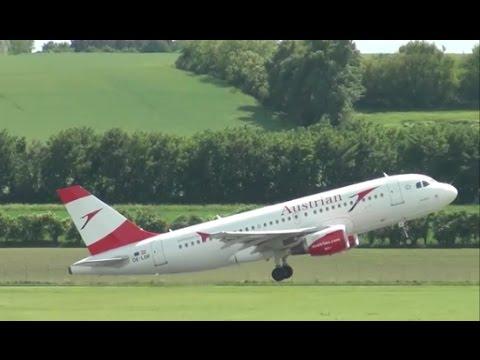 Vienna International Airport - Spotting Lighter Airliners