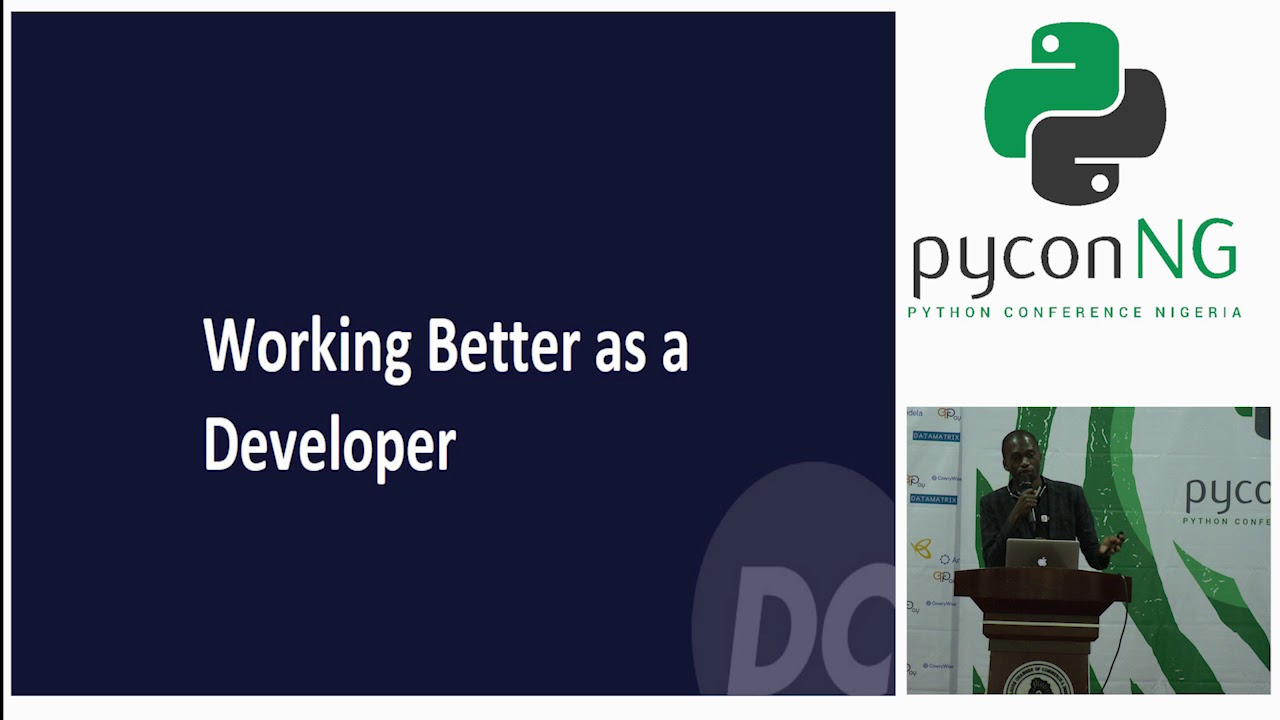 Image from Seun Awoyele(DevCenter) - Working Better as a Developer