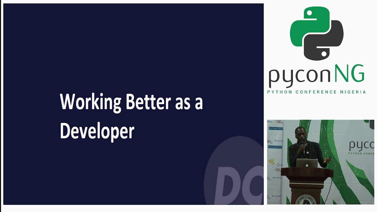 Image from Seun Awoyele(DevCenter) - Working Better as a Developer
