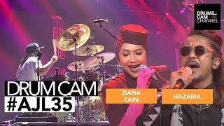 AJL 35   Hazama & Ziana Zain : Relakan Jiwa 'Mash Up' Madah Berhelah   JENK ALI   DRUMCAM