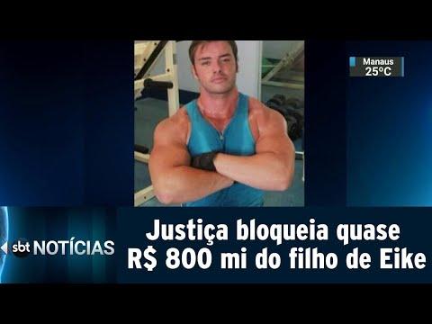 Justiça determina bloqueio de quase R$ 800 milhões do filho de Eike | SBT Notícias (21/03/19)