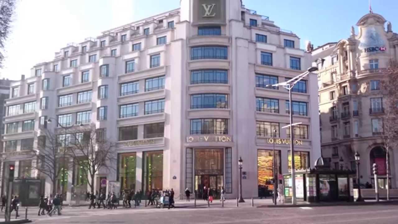 297f5e65d9205 Louis Vuitton flagship store, Champs-Élysées Paris - YouTube