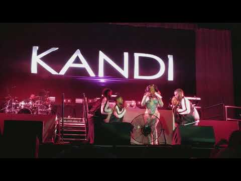 XSCAPE Kandi (SOLO Single) LIVE REUNION Tour - Norfolk 2017