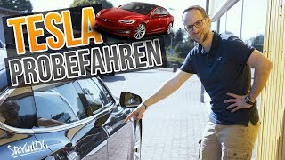Tesla probefahren bei T&T Tesla (SteVinLOG #31)