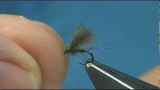 Tying 3 Patterns of the Blue Winged Olive (DryFlies) by Davie McPhail