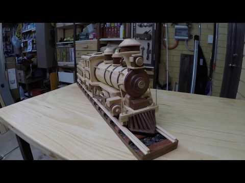 Make Wooden Train Tracks