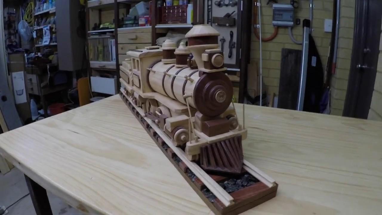 Make Wooden Train Tracks - YouTube