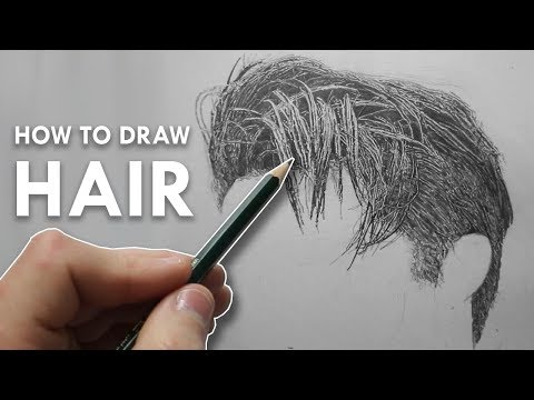 how-to-draw-hair-in-pencil---narrated-tutorial---example-1