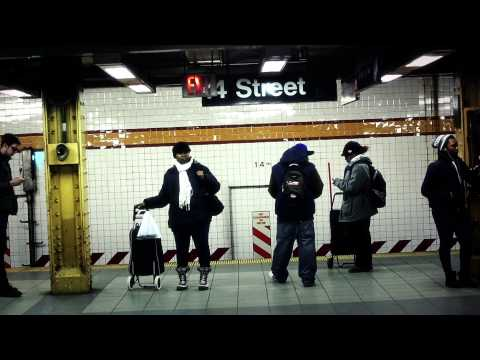 "Sonnet 75 - ""Life Underground"", 14th St. A/C/E Station, Manhattan"