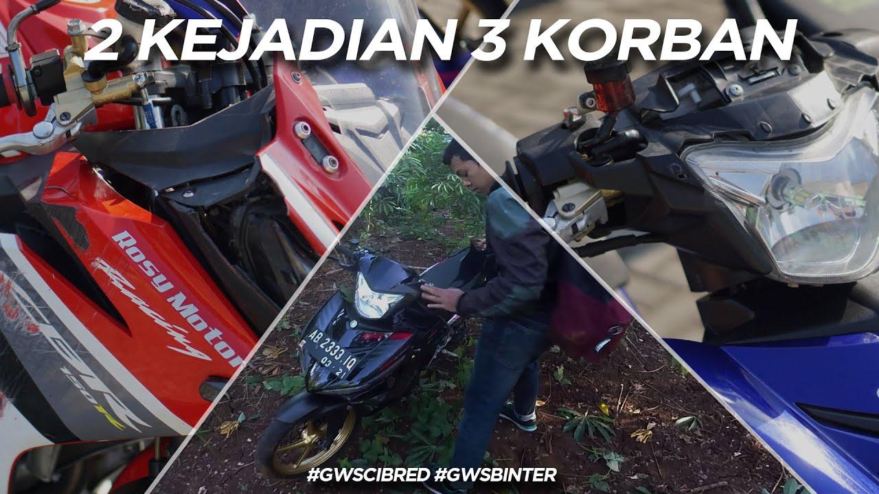 Crash Saat Riding!! 2 Kejadian Dalam Satu Perjalanan