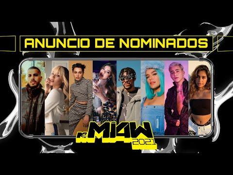 ¡Estos son los nominados de los #PremiosMTVMIAW! 🔴 EN VIVO