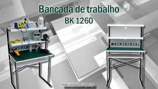 Bancada de trabalho BK 1260 - com proteção antiestática