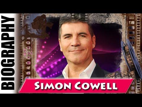 English TV Talent Judge Simon Cowell - Biography and Life Story