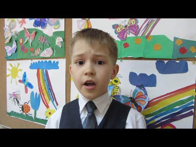 Изображение предпросмотра прочтения – ИльяПетин читает отрывок изпроизведения «Глаза девчонки семилетней» А.Л.Барто