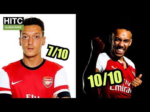 RATING Most Expensive ARSENAL Signings By YEAR (00-18)