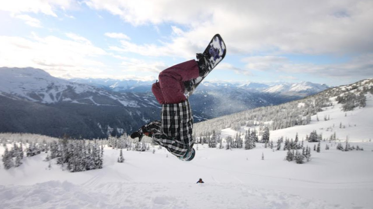 How To Get Confident With Snowboard Backflip Youtube