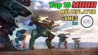 Top 10 MOBA (Multiplayer Online Battle Arena) Games for iOS