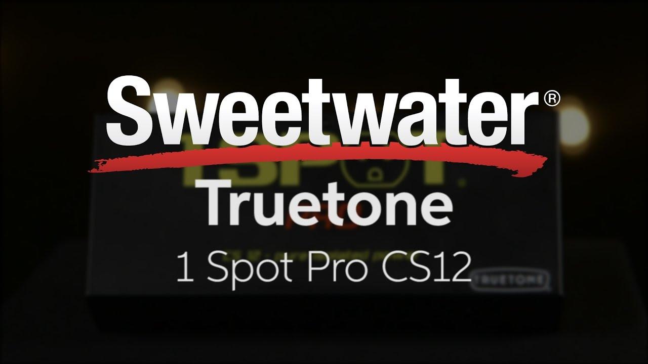 Truetone 1 SPOT PRO CS12 12-output Isolated Guitar Pedal