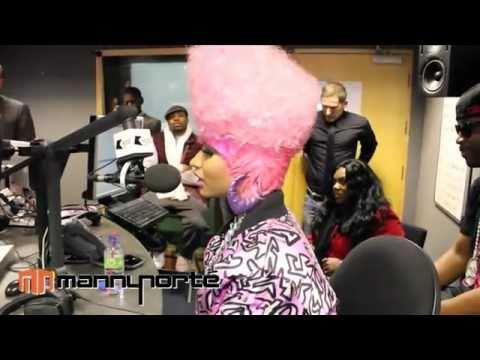 Nicki Minaj - UK Radio Interview [Manny Norte]