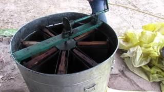 madhumakhi honey  Extracting part 1