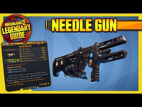 Borderlands 3 | NEEDLE GUN - BUFFED!! | Legendary Weapons Guide!!! Revenge of the Cartels