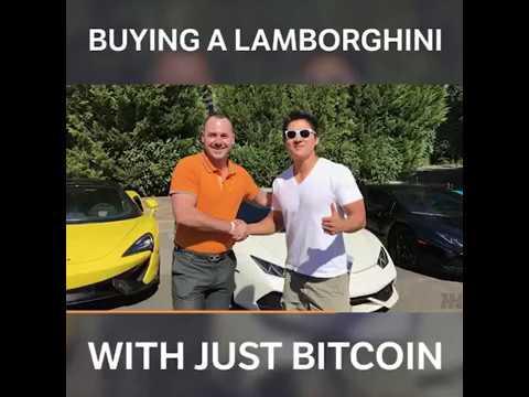 Beli Lamborghini Dengan Harga Usd115 Saja Guna Bitcoin