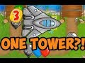 ONLY ONE TOWER?! CAN YOU SURVIVE? Bloons TD Battles