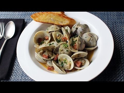 Chorizo Steamed Clams Recipe - How To Make Spanish-Style Clams With Chorizo Sauasge