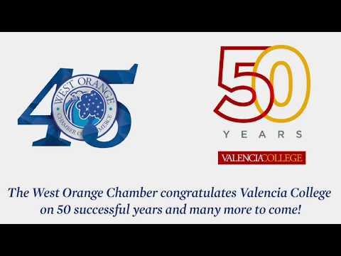 WOCC Congratulates Valencia College on 50 Successful Years