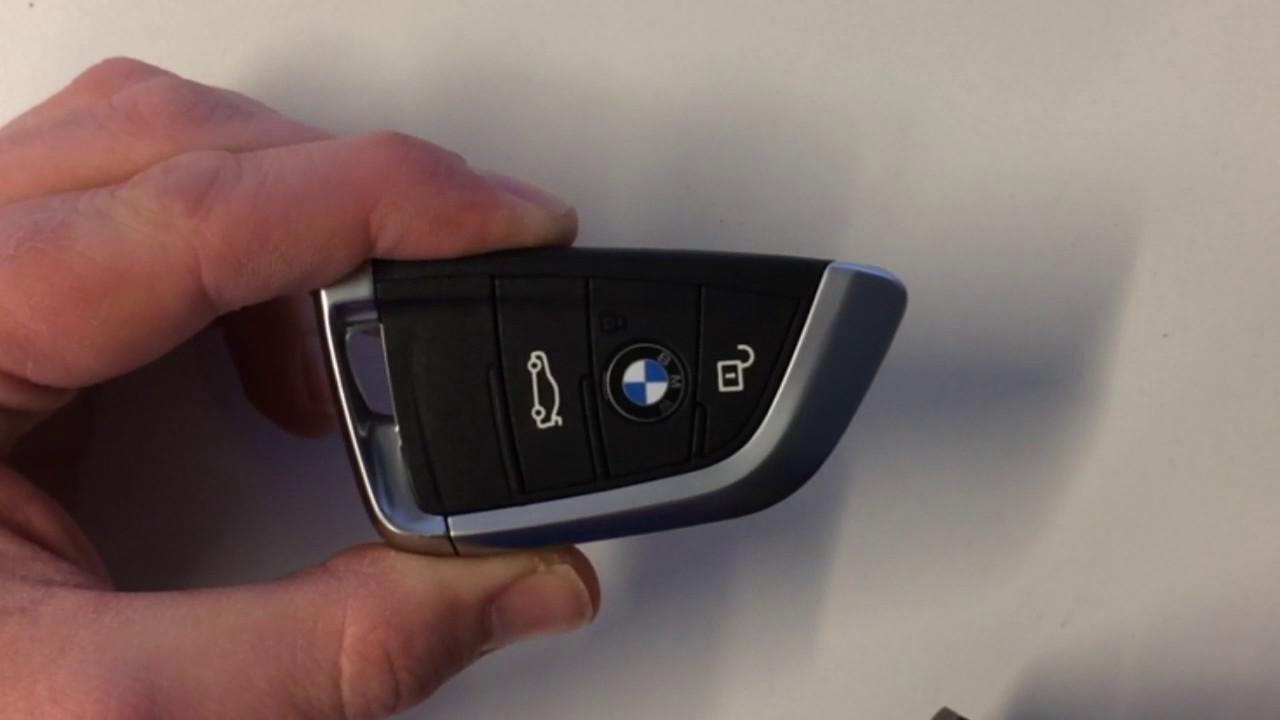Vervangen Batterij Sleutel Bmw X5 F15 2 Serie En 7 Serie