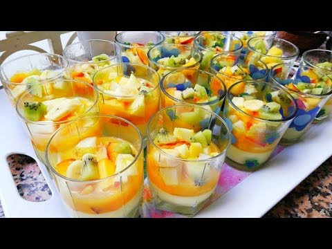 délicieux-dessert-très-facile-et-rapide-à-faire-en-10min-👌2019-cuisine-marocaine
