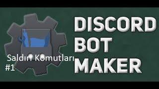 Basit Odaları Sil Saldırı Komutu | Discord Bot Maker Basit Saldırı Komutları #1