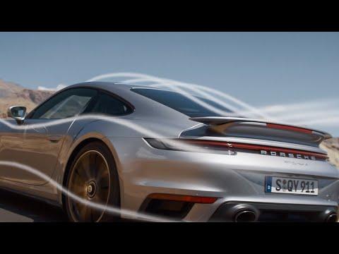 The new 911 Turbo S - Porsche Active Aerodynamics