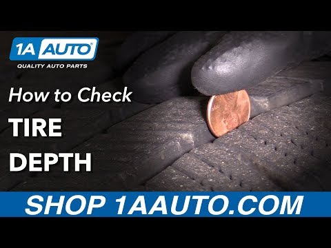 How to Check Your Tire Tread Depth with a Gauge or a Penny