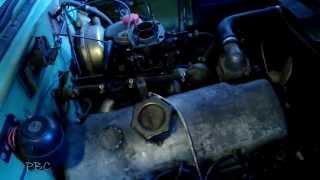 Ремонт Москвича 412 (Частина 1). Установка БСЗ. Дивні отвори у змішувальних камерах Озон.